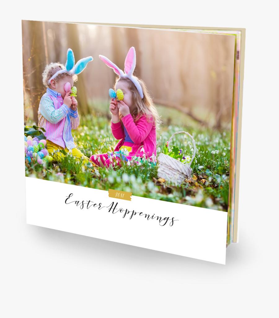 Garden Easter Egg Hunt - Easter Child, Transparent Clipart