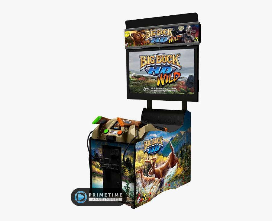 Big Buck Hd Wild Panorama Arcade Game - Busch Light Big Buck Hunter, Transparent Clipart