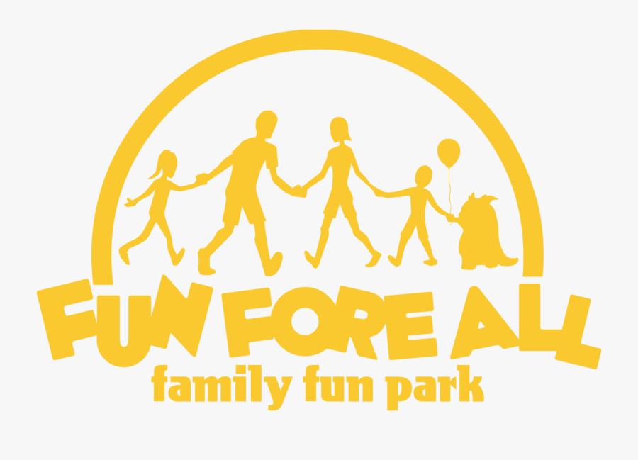 Amusement Clipart Family Amusement Park - Fun Fore All Family Fun Park, Transparent Clipart