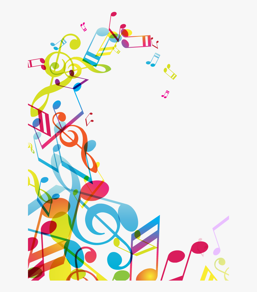 Musical Note Borders Transprent - Musical Notes Border Png, Transparent Clipart