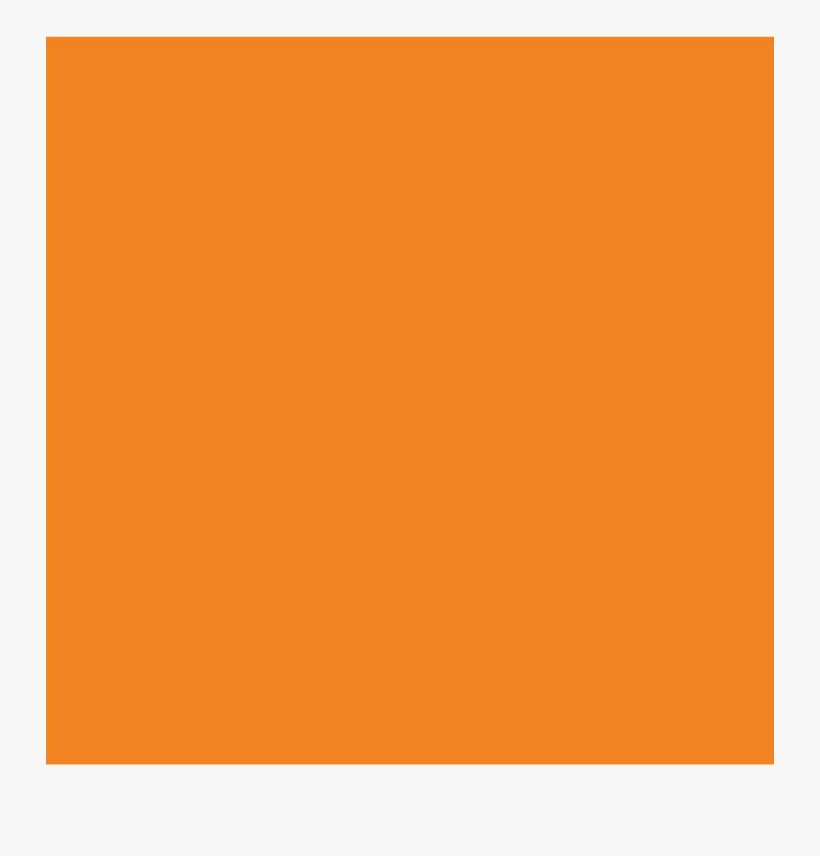 Clip Art Transparent Colors Huge - Orange Post It Note, Transparent Clipart