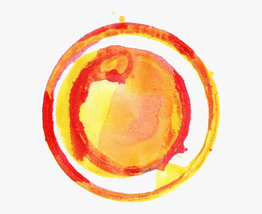 Circle Png Color - Circle Color Yellow Png, Transparent Clipart