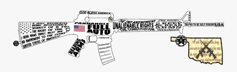 Guns Clipart Amendment - Revolver, Transparent Clipart