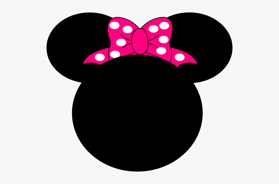 Clipart Of Mouse, 2 Ear And Bear Ear - Mickey Mouse Ears, Transparent Clipart
