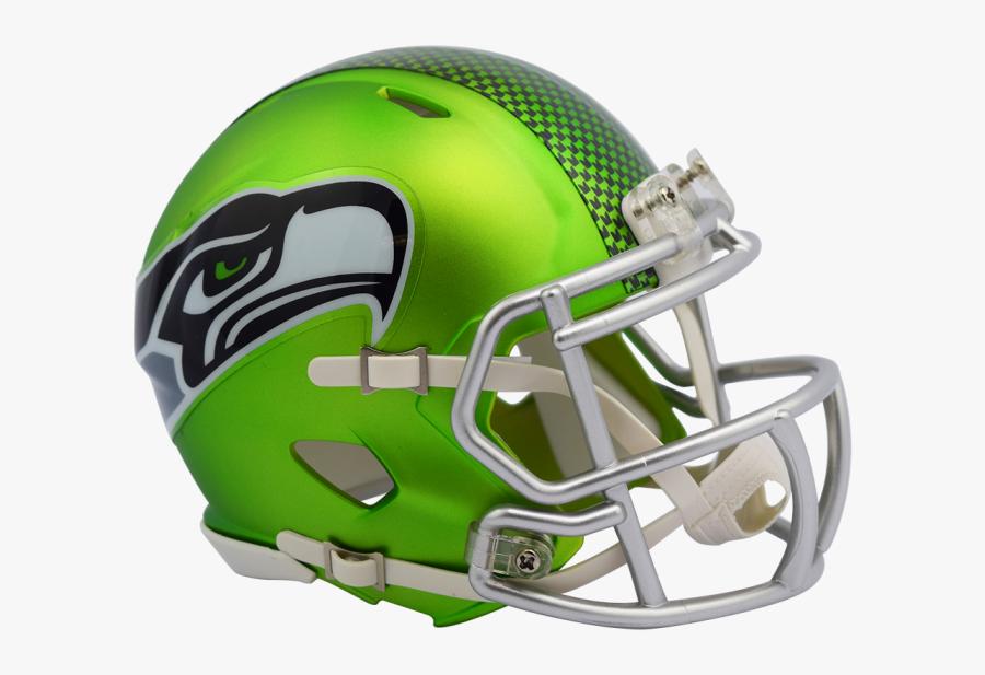 Transparent Nfl Helmets Png - Seattle Seahawks Blaze Helmet , Free Transparent Clipart - ClipartKey