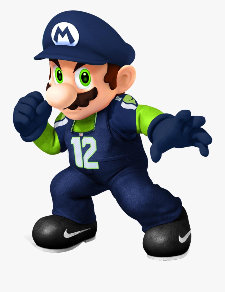 Super Smash Bros Wii U Mario, Transparent Clipart
