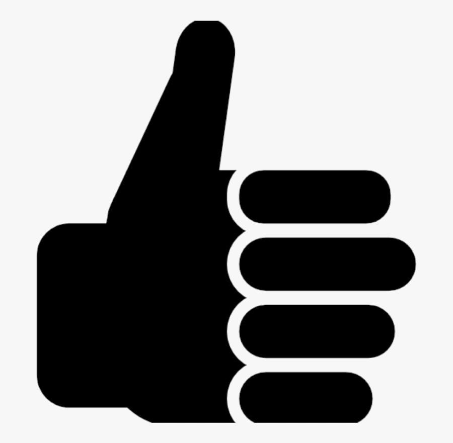 Thumbs Up Clipart Free Symbol Clip Art Vector Of Transparent - Royalty Free Thumbs Up, Transparent Clipart