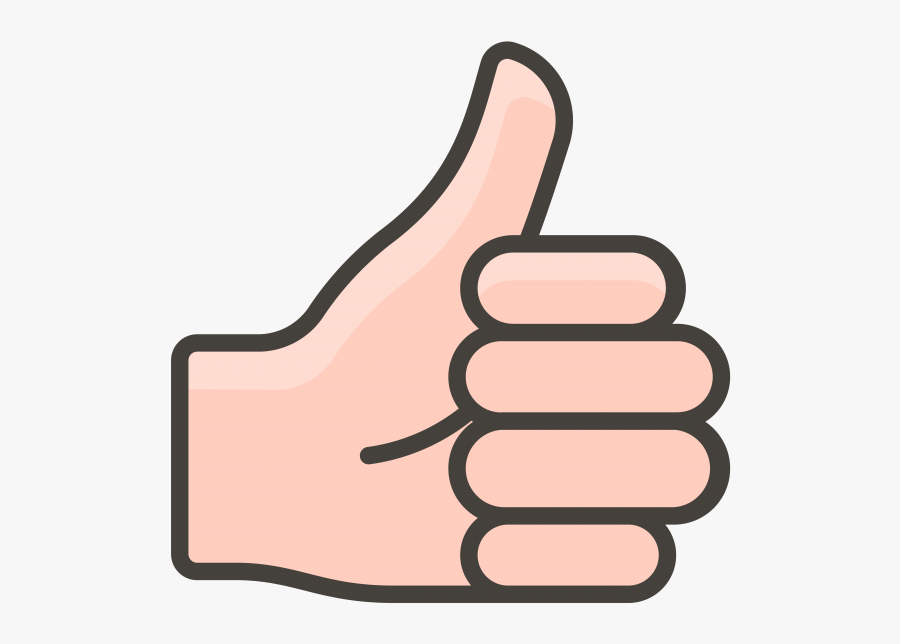 Symbol Emoji Thumbs Up Icon, Transparent Clipart