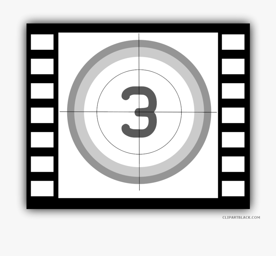 Movie Clipart Movie Camera - 3 2 1 Movie Clip, Transparent Clipart