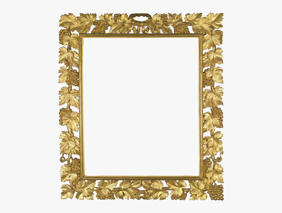 Painting Clipart Wall Frame - Gold Picture Frame Transparent, Transparent Clipart