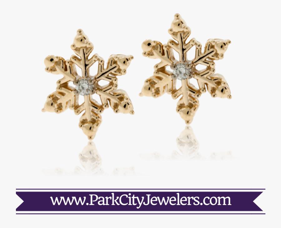Clip Art Jewelry Park City Jewelers - Double Diamond Hoop Huggie Earrings, Transparent Clipart