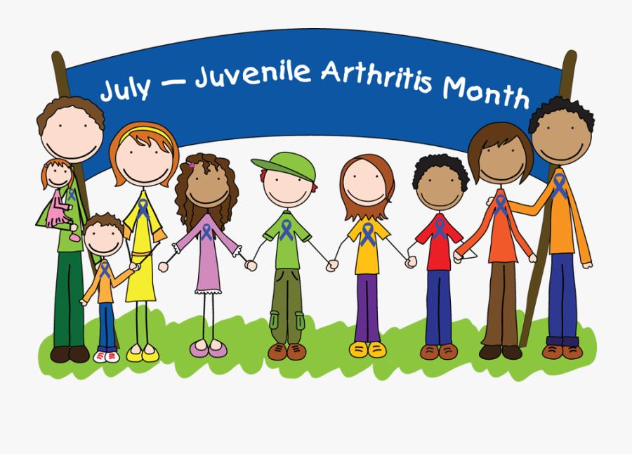Juvenile Arthritis Kids - We Support Mental Health Awareness, Transparent Clipart