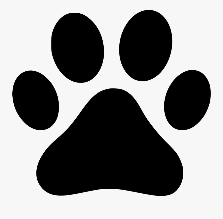 Download Pawprint Svg Bear - Transparent Dog Paw Print , Free ...