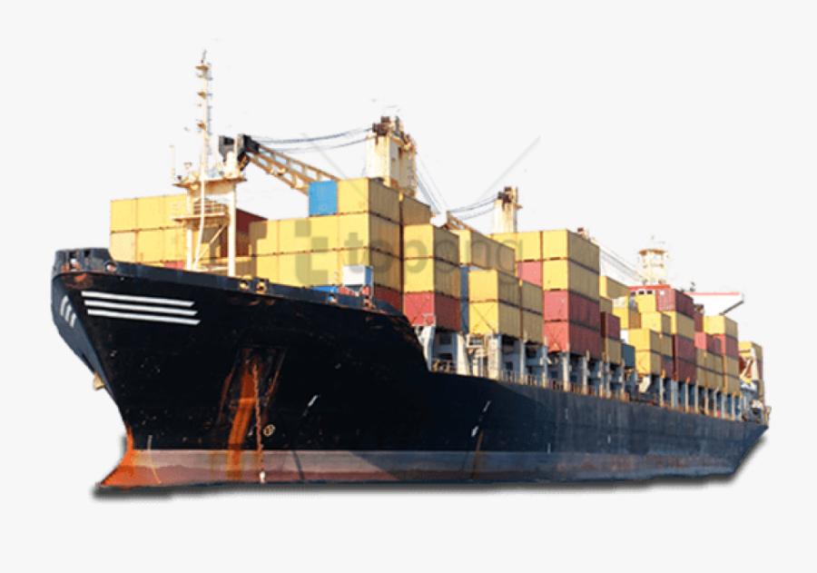 Cargo Ship In India, Transparent Clipart