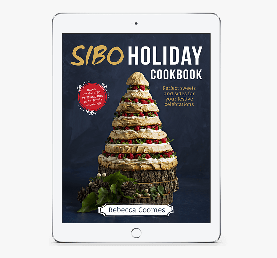 Sibo Holiday Cookbook Ipad Cover - Book Cover, Transparent Clipart