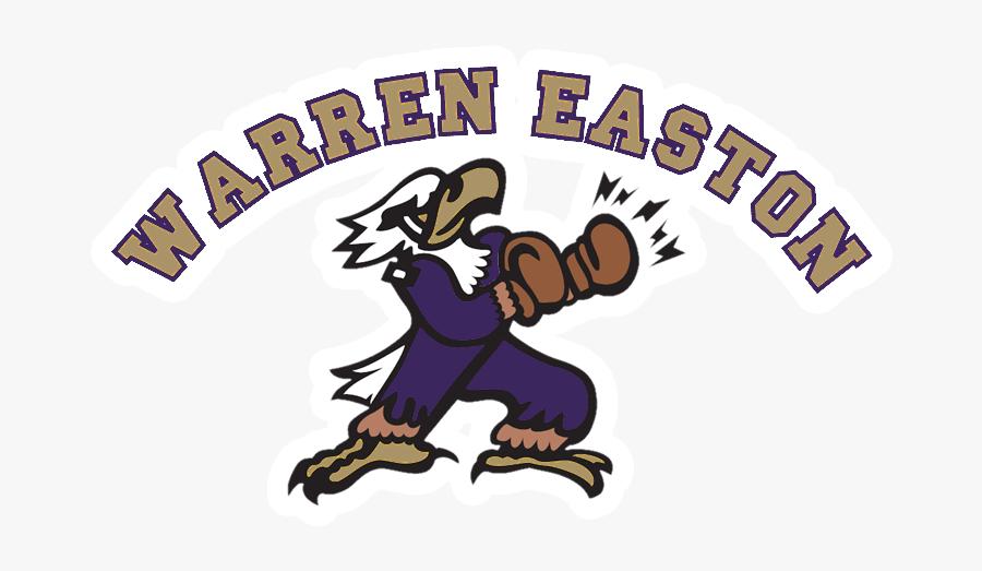 Transparent Basketball Outline Png - Warren Easton High School Logo, Transparent Clipart