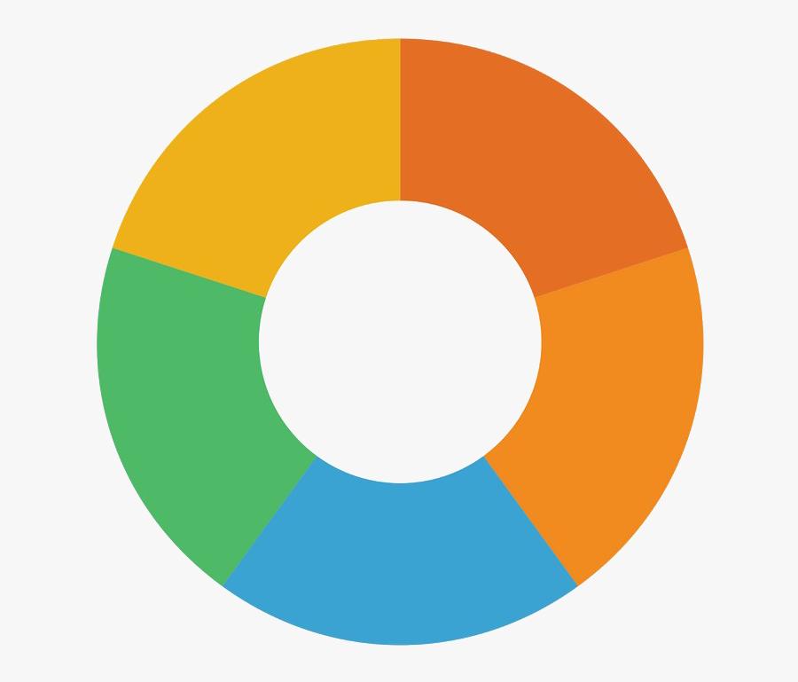 Transparent Infographic Png - Transparent Pie Chart Png, Transparent Clipart