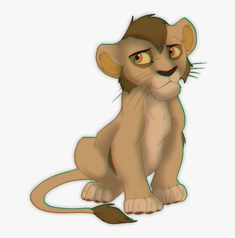 Lion King Nuka Cub, Transparent Clipart