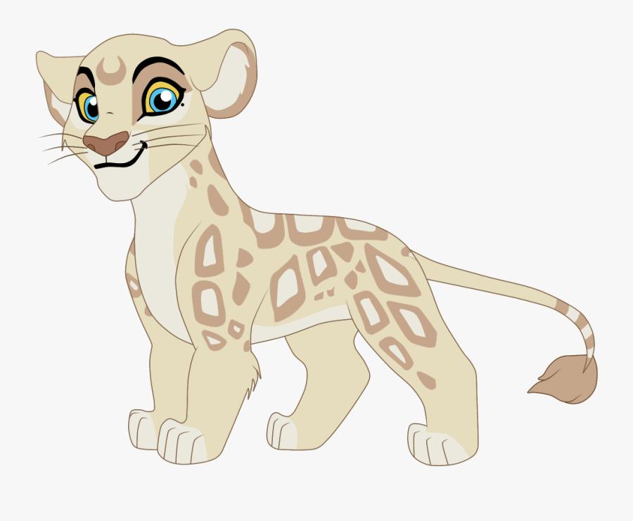 The Lion King Fanon Wiki - Lion Guard Female Leopard, Transparent Clipart