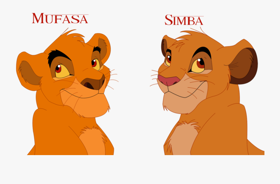 Mufasa Clipart Strong Lion - Lion King Mufasa Cub, Transparent Clipart