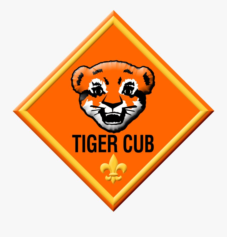 Tiger Badge - Cub Scouts Tiger Cub, Transparent Clipart