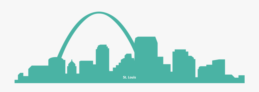 Expanding Opportunities - St Louis Skyline Drawing, Transparent Clipart