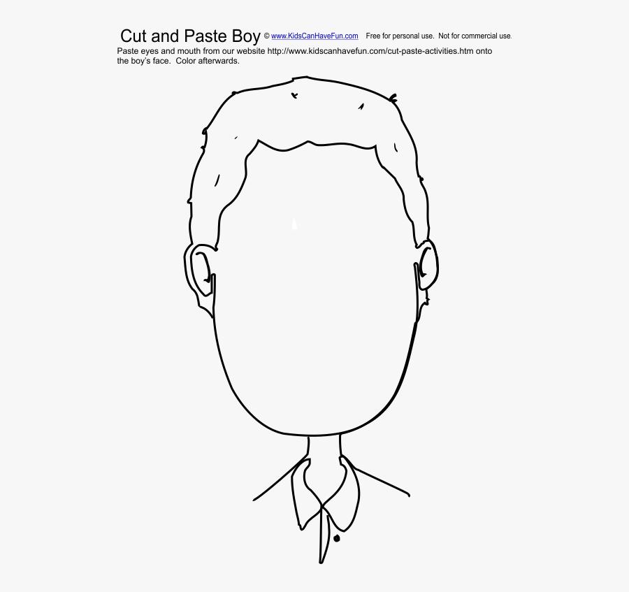 Crafts Clipart Cut And Paste - Body Parts Cut Out, Transparent Clipart