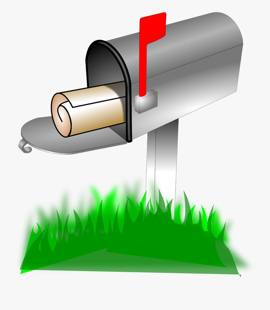 Animated Mailbox, Transparent Clipart