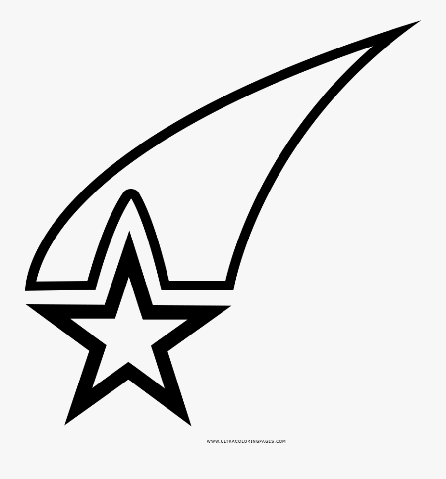 Shooting Star Coloring Page Star Sport 1 Hindi Download Free Transparent Clipart Clipartkey