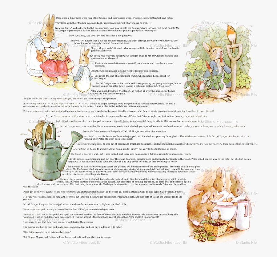 Peter Rabbit, Transparent Clipart