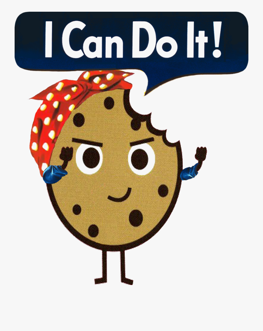 I Can Do It Design - We Can Do It! (rosie The Riveter), Transparent Clipart