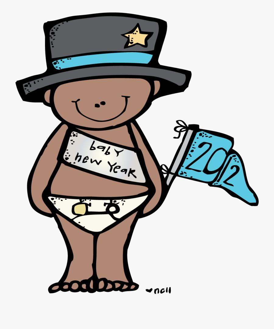 Clip Art Melonheadz - Melonheadz New Year Clipart, Transparent Clipart