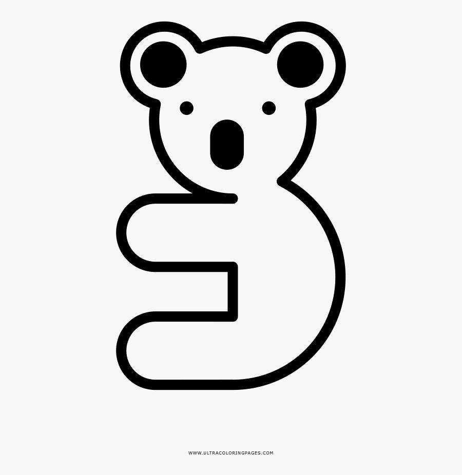 Koala Coloring Page Cartoon Free Transparent Clipart Clipartkey