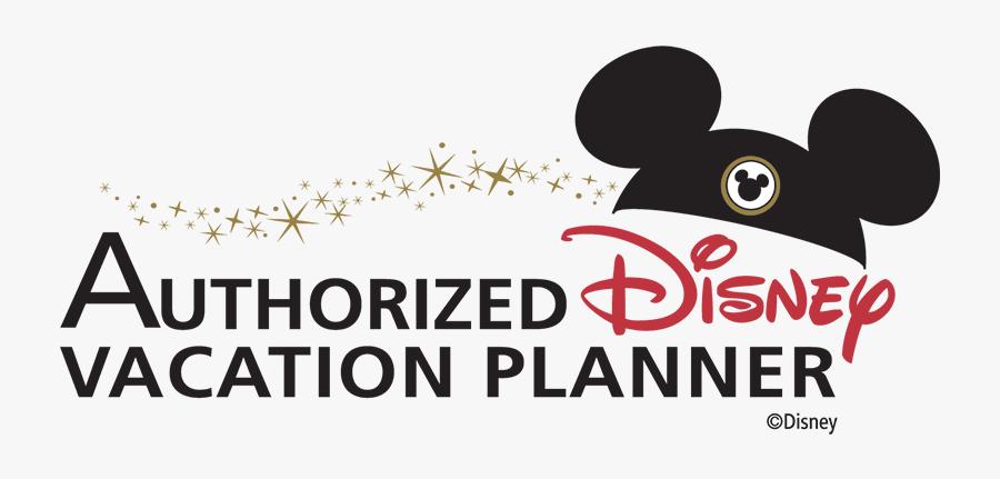 Authorized Disney Vacation Planner, Transparent Clipart