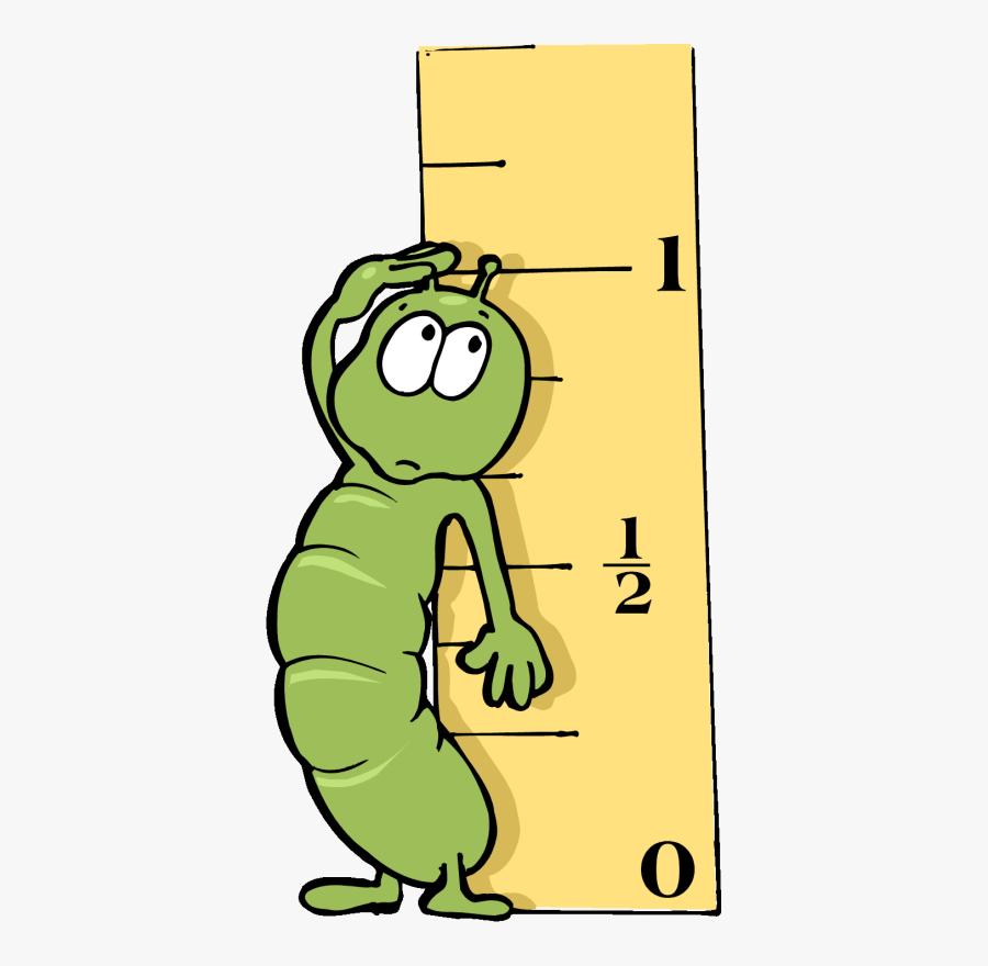 Measurement Clipart - Inch Worm Clip Art, Transparent Clipart