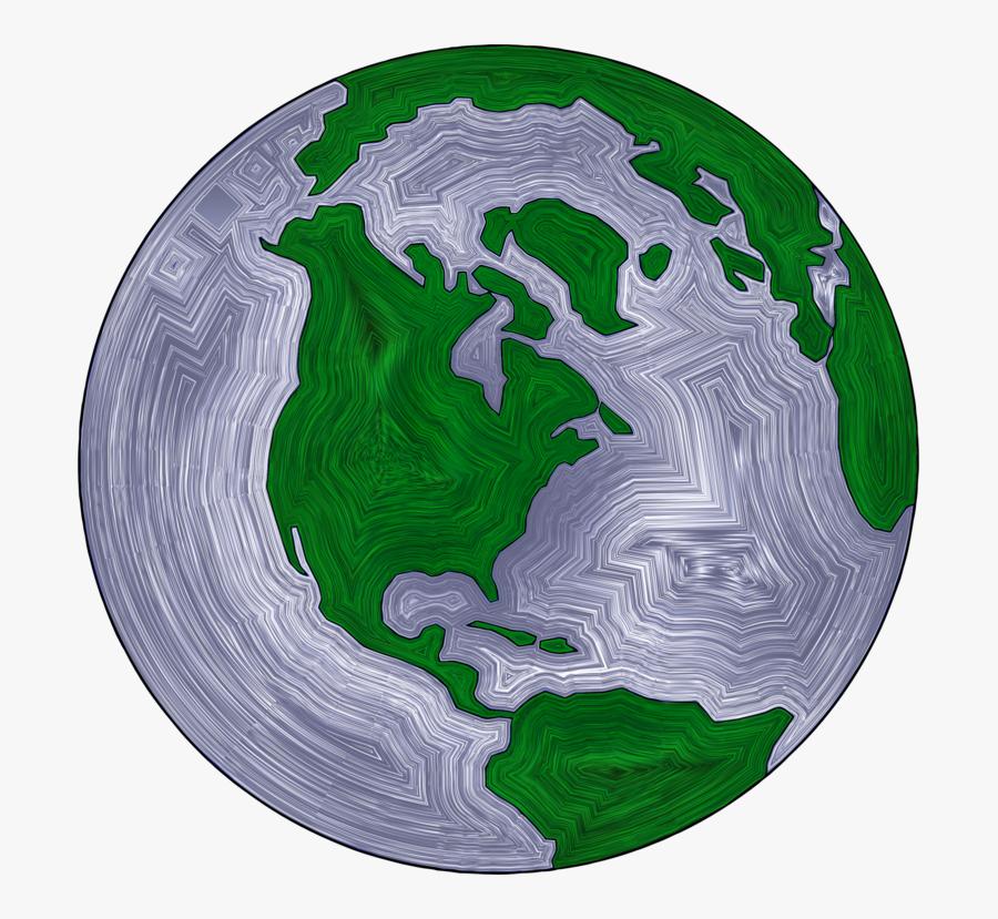 World,globe,interior Design - Vector Transparent Earth Png, Transparent Clipart