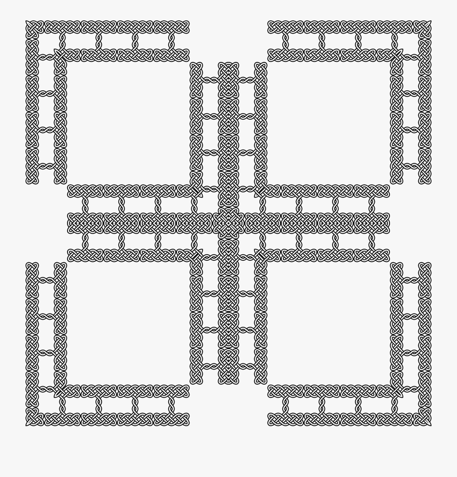 Transparent Celtic Design Png - Protection From Negative Energy Symbol, Transparent Clipart