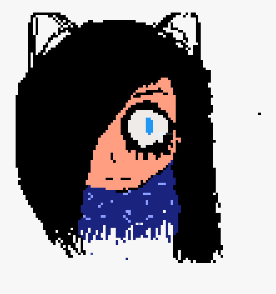 Transparent Black Cat Ears Png - Illustration, Transparent Clipart