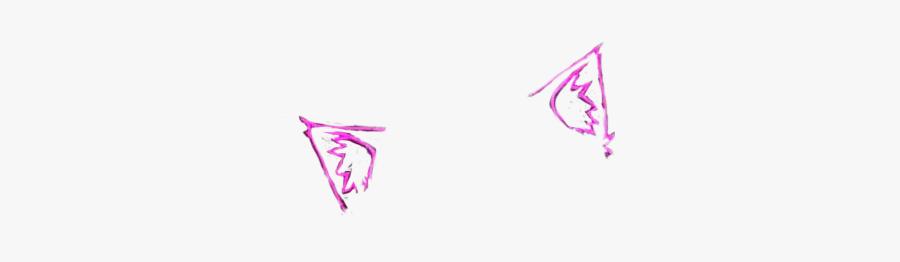 #cat #ears #meow😺 #sticker #neon #kawaii, Transparent Clipart