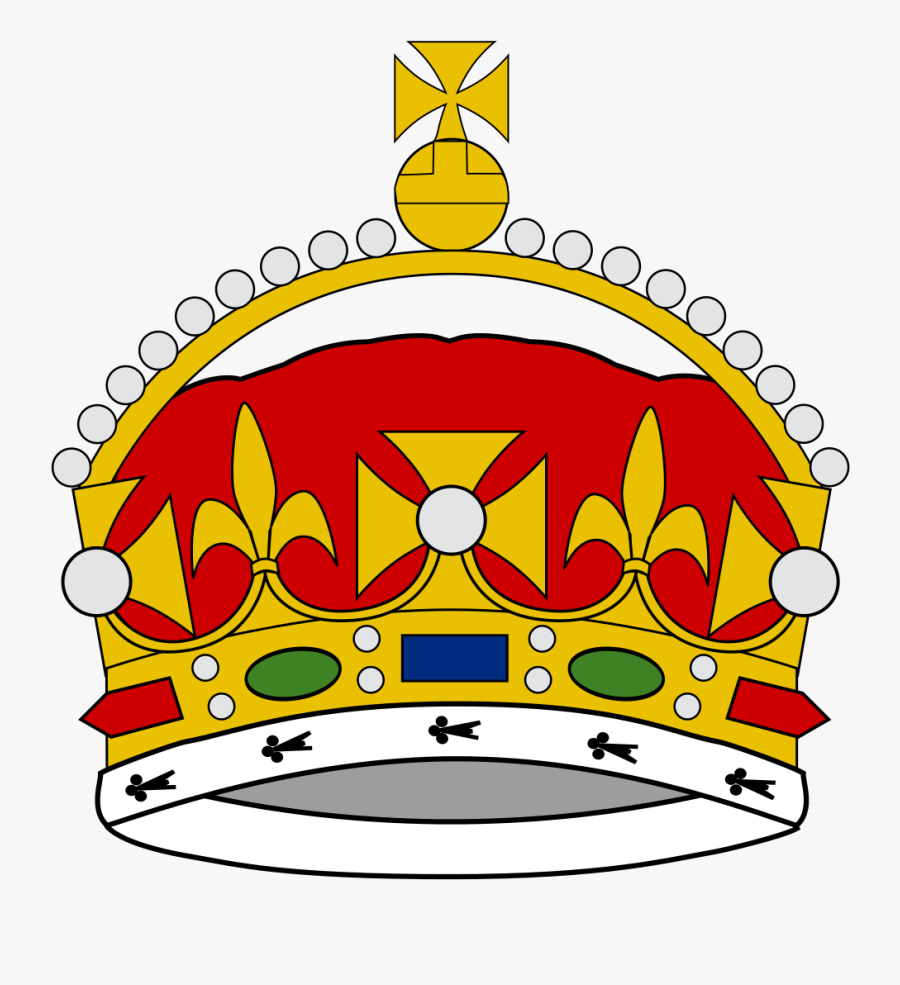 Royal Drawing King Crown - King George Iii Crown Drawing, Transparent Clipart