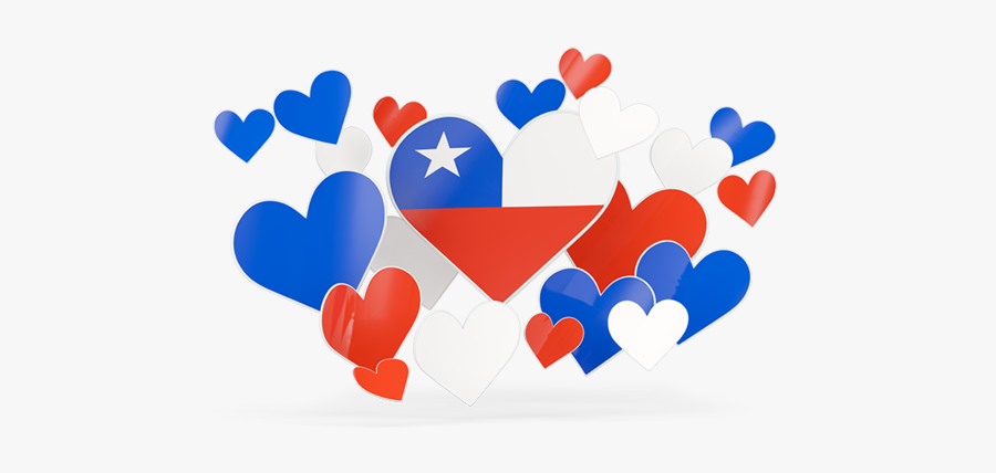 Flying Heart Stickers - South African Flag Heart, Transparent Clipart