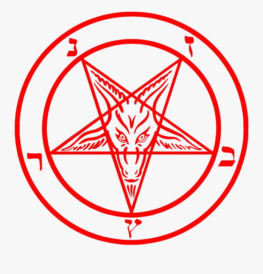 Satanic Drawing Woman Baphomet Pentagram- - Baphomet Png, Transparent Clipart