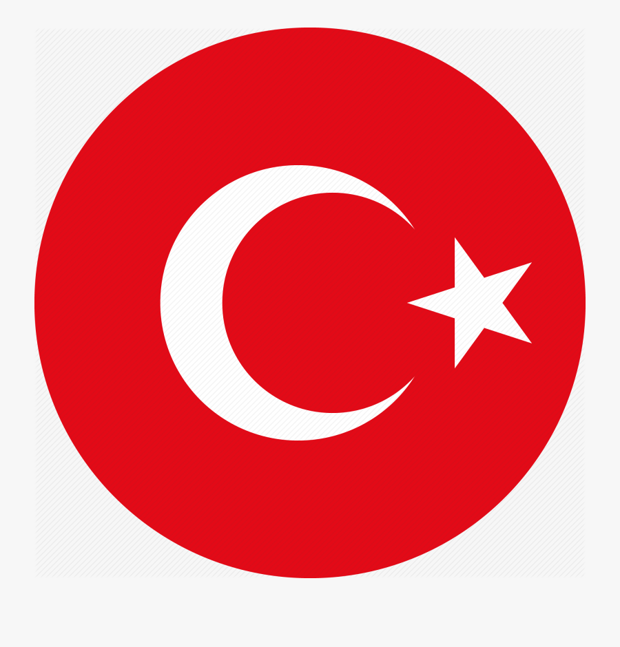 Turkish Icon Png Clipart Computer Icons Social Media - Turkey Flag Circle Png, Transparent Clipart