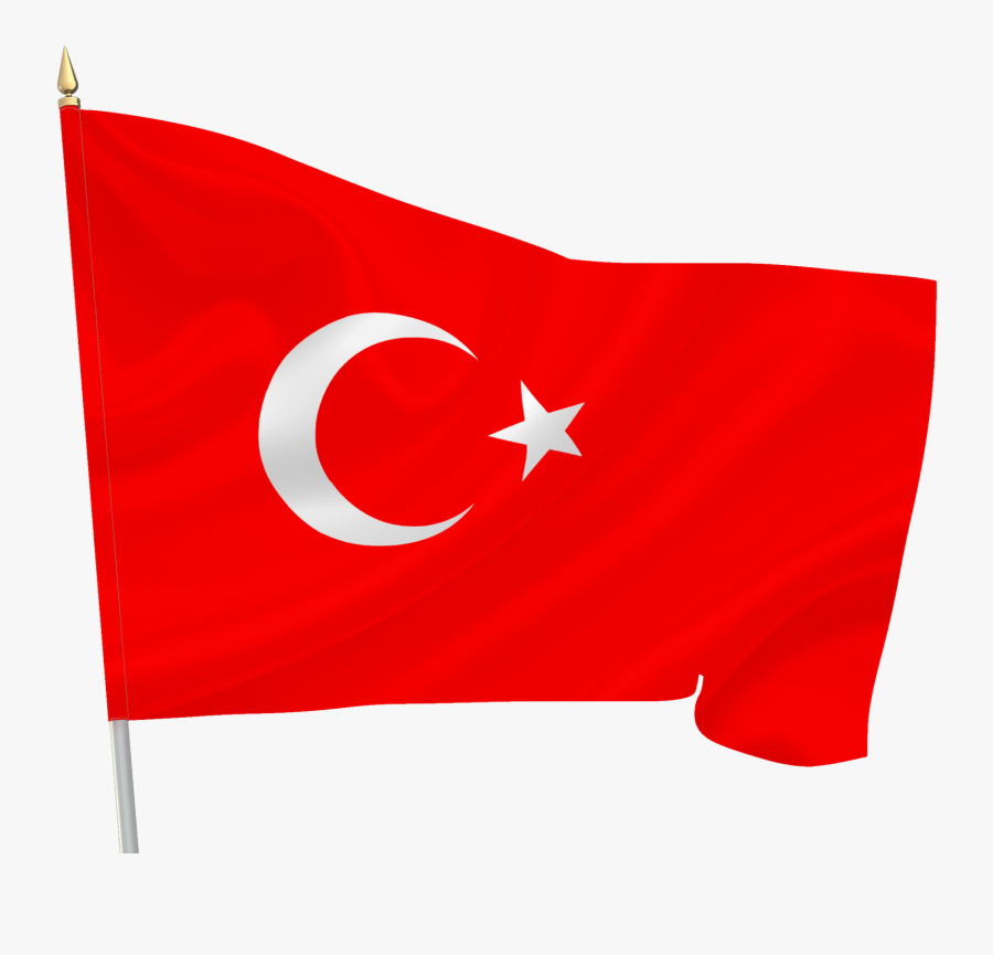 Turkish Flag Clipart Png Collection - Flag Of Turkey, Transparent Clipart
