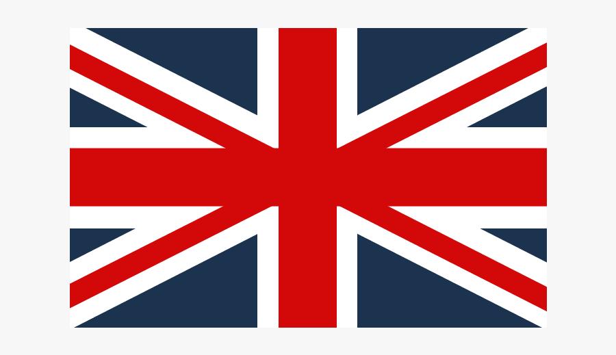 Blue Black And White Union Jack, Transparent Clipart