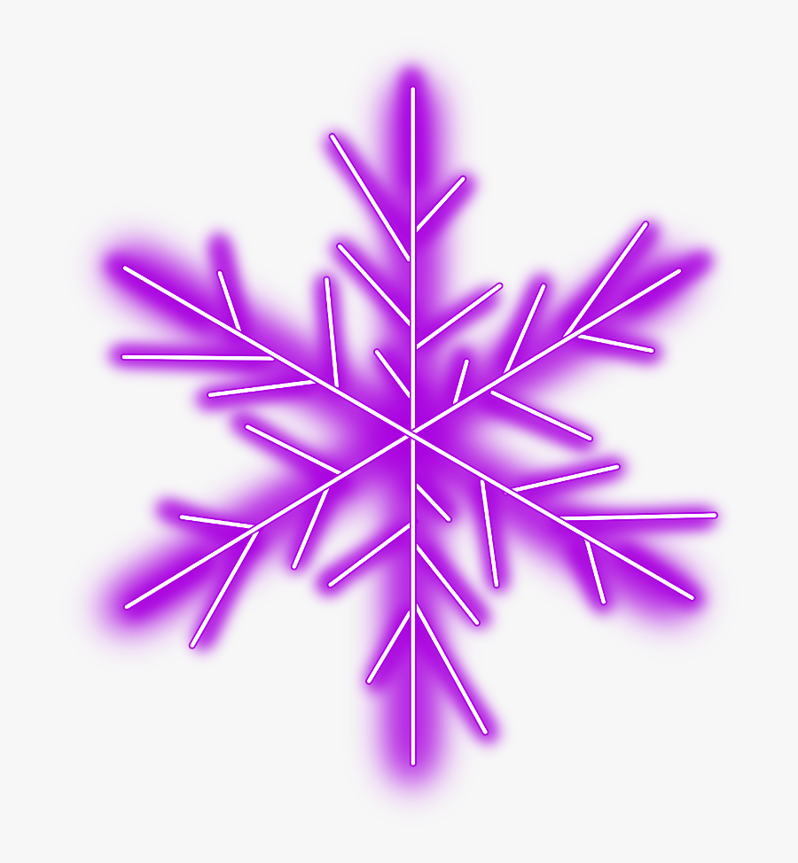 #neon #snow #snowflakes #snowflake #winter #geometric - Code Kids, Transparent Clipart