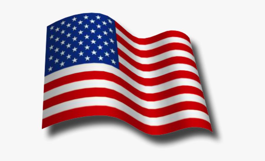 Transparent American Flag Gif, Transparent Clipart