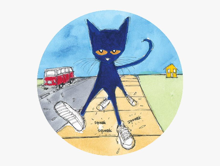 Pete The Cat Clipart Images In Collection Page Transparent - Clipart Guitar Pete The Cat, Transparent Clipart