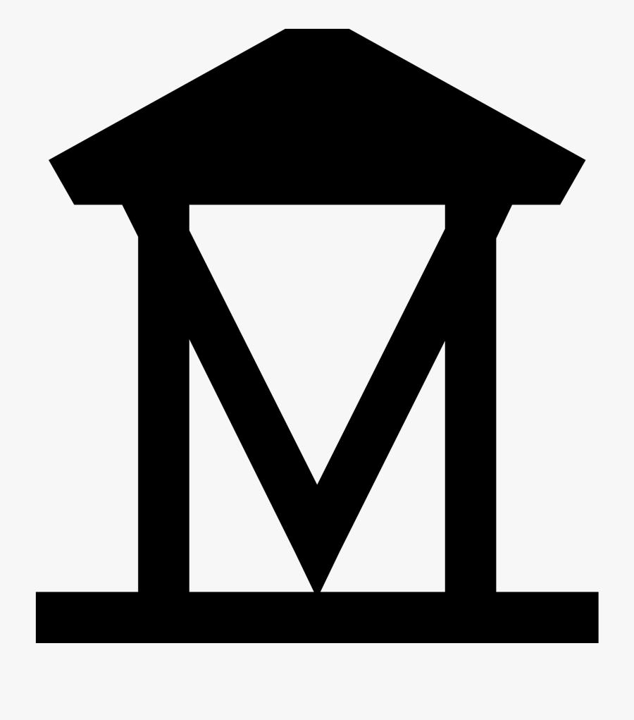 Museum Clipart Museum Sign - Museum Icon Google Maps, Transparent Clipart
