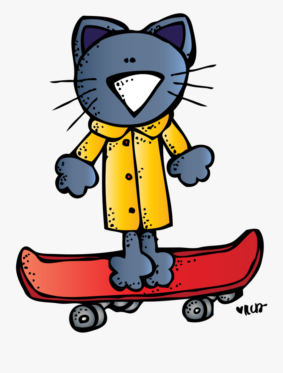Pete The Cat And His Four Groovy Buttons Kitten Pete - Pete The Cat Cliparts, Transparent Clipart